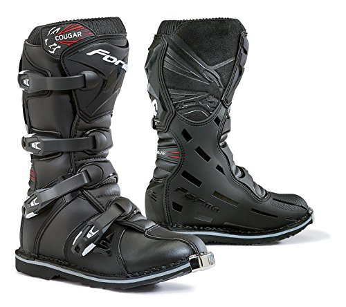 Forma Youth Cougar Boots (Black, 39 EU/7 US)