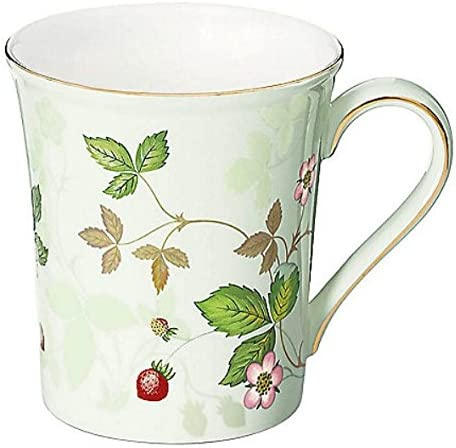 Strawberry Mug Cup Beaker Fine Bone China