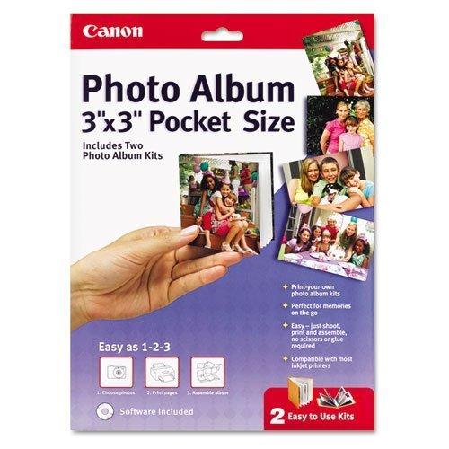 (Canon Pocket Size Photo Album, 3 x 3)