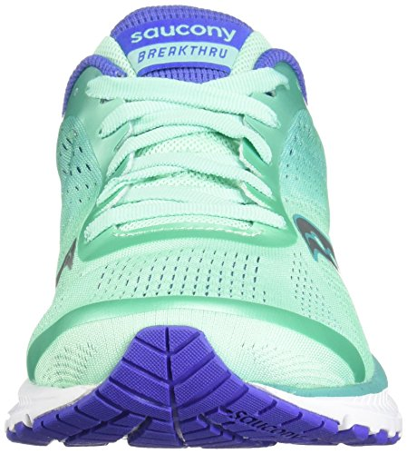 Saucony Turquoise Femme Violet Gris Blanc Basket Breakthru Vert Femme Urq6AwU