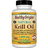 Healthy Origins Krill Oil 1,000 mg, 120 Enteric-Coated Softgels