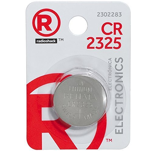 - CR2325 3V/190mAh Lithium Coin Cell Battery