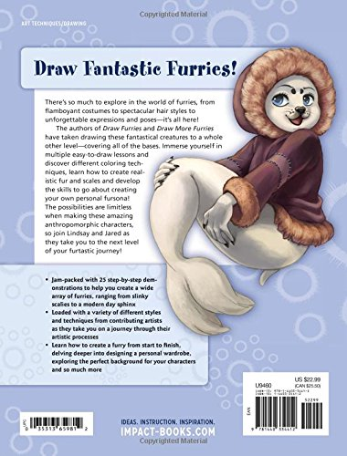 Draw Furries Book