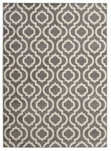( 8' x 10' Area Rug ) Diagona Designs Contemporary Moroccan Trellis Geometric Design Area Rug, 94