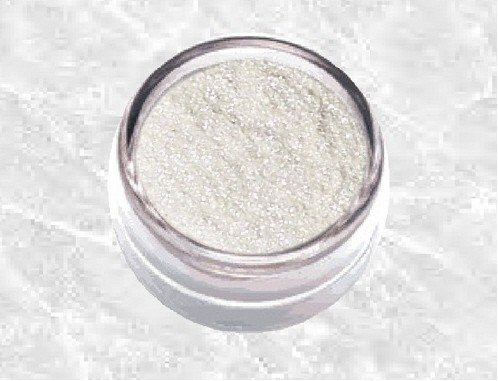 2g White Pearl Highlight Sparkle Mica Very Loose Glitter Powder Eyeshadow Dust