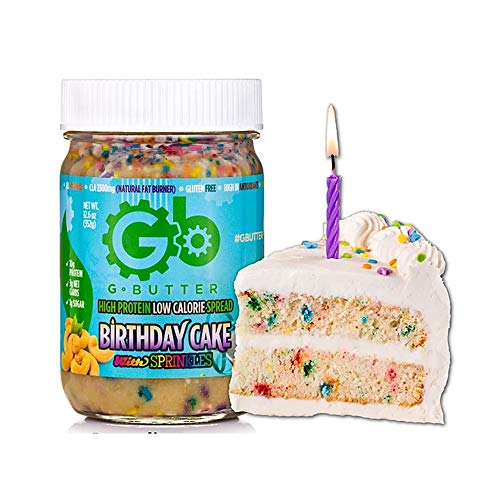 G Butter High Protein Low Calorie Spread - Birthday Cake