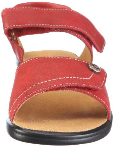 Ganter Sonnica, Weite E 1-202851-4100 - Sandalias de vestir de cuero para mujer Rojo