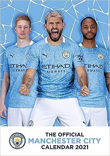 Official Manchester City 2021 Calendar - A3 Wall Calendar