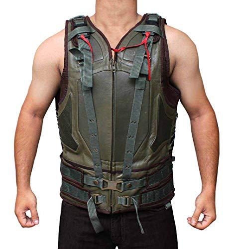 fjackets Dark Knight Rises Bane Costume Vest | Bane Halloween Merchandise |XXL