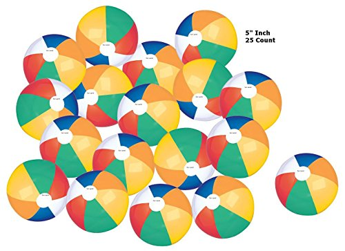 Beach Party Top - Top Race Colorful Beach Balls Rainbow Color Beach Balls 5