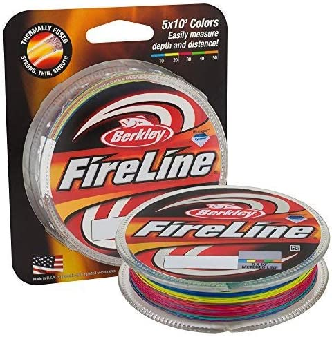Best Braided Fishing Lines :Berkley Fireline Superline Fishing Line