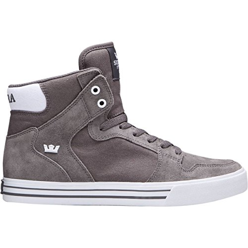 Supra Vaider LC Sneaker Charcoal-weiß