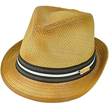 03ad710f Corona Beer Lager Beach Paper Straw Diamond Top Fedora Large XLarge Trilby  Hat