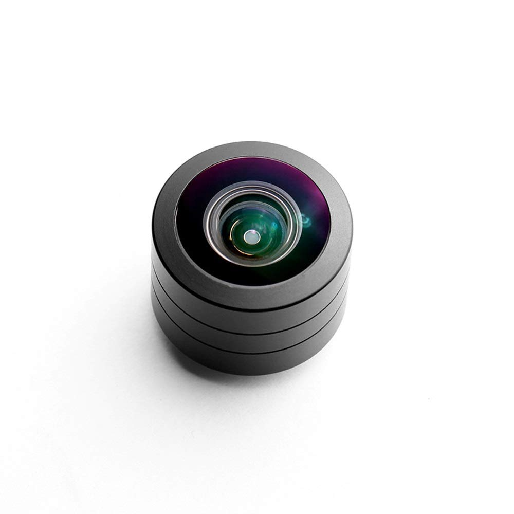 Mihaojianbing 360 Degree Panoramic Lens, Fisheye, Shooting Phone Lens, Suitable for All Smartphones, Panoramic Shooting Multi-Coated by Mihaojianbing