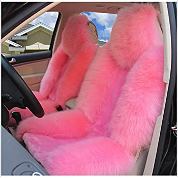 Amazon Com Luxury And Noble Fluffy Wool Car Seat Covers