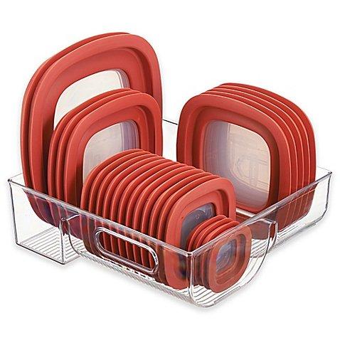 InterDesign Cabinet Binz 3 Compartment Lid Organizer by InterDesign