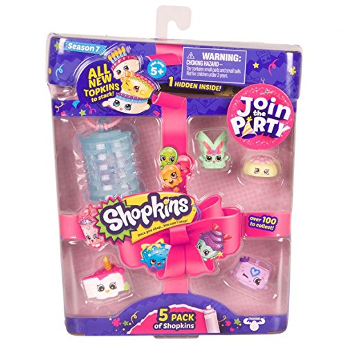 [Shopkins S7 5Pk Toy] (Sea Themed Costume Party)