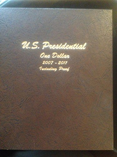 2007 P, D, S Set 2007-2011 P,D,S 60 Coin Presidential Dollar Set in Bookshelf Dollar Album #8184 Proof