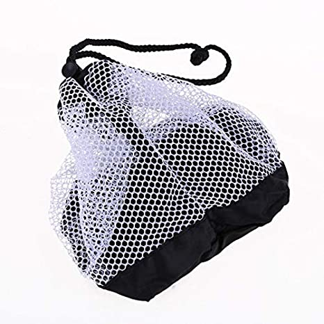 Golf Training Aids Sports & Entertainment Nylon Mesh Bag Pouch Holder Carrying Tennis Nets Balls Closure Golfball Bag