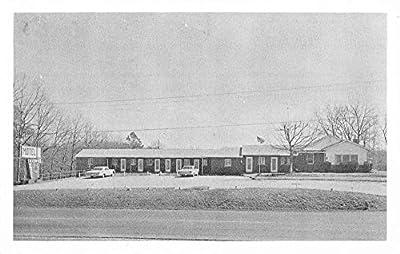 Corbin Kentucky Dixon Motel Street View Vintage Postcard K65430