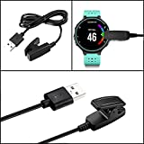 Forerunner 235 735XT Charger Charging Cable Clip Compatible with Garmin Forerunner 235 35 630 645 230 735XT … (235/735)
