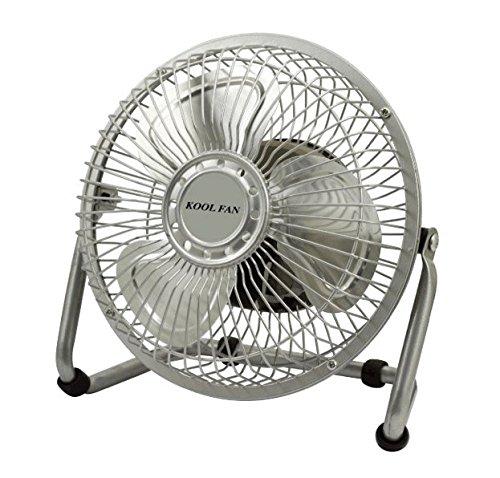 Kool Fan Ventilateur de table avec pales grille métallique 20 W 15,24 cm