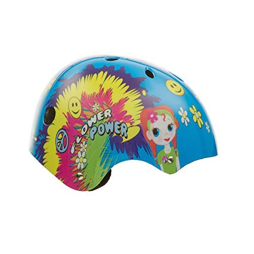 Titan Flower Power Princesse 11-vents BMX de protection et casque de skateboard, petite