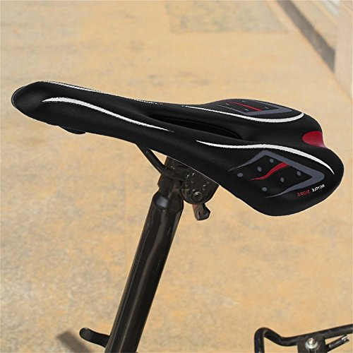 MTB Mountain Road Bicycle Bike Riding Cycling Hollow Saddle Seat Cushion Soft by CLKJYF
