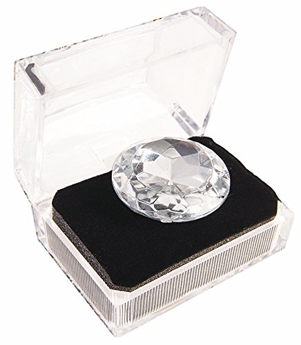Forum Novelties 60185 Bachlorette Jumbo Diamond Ring, Silver, As Shown, One Size]()