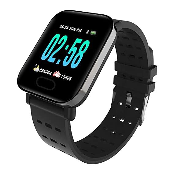 NO BRAND Z-NIJ intelligente Watch, Presión Arterial Inteligente ...