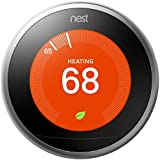 Nest T3008US Learning 3rd Generation Thermostat (Professional Version)