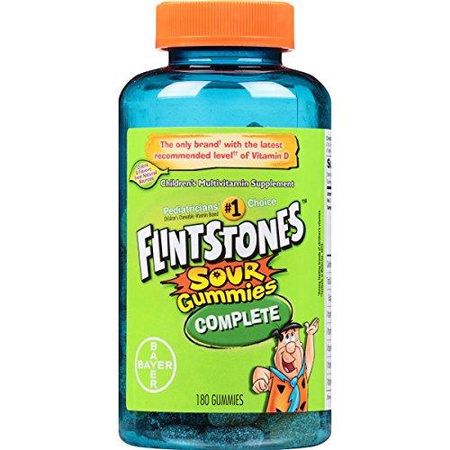 Flintstones Complete Multivitamin Sour Gummies, 180 Count