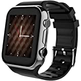 Scinex SW20 16GB Smart Watch for iPhone & Android - US Warranty (Silver/Black)