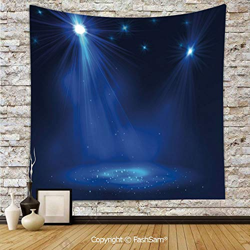 FashSam Tapestry Wall Blanket Wall Decor Smoky Stage Disco Night Club Studio Theater Show Fame Performance Home Decorations for Bedroom(W51xL59) -