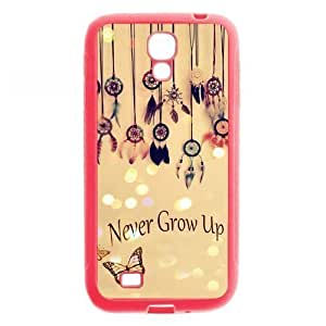 Beautiful Dream Catchers Light Pink Rubber Cover Case for SamSung Galaxy S4
