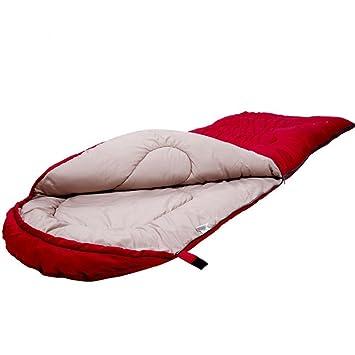 HUANLIN Camping Bolsas de Dormir, Invierno Adultos Sacos de Dormir Saco de Dormir Almuerzo Informal