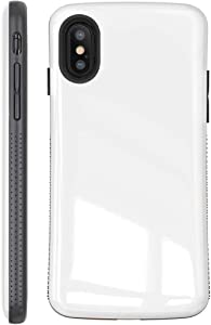 iPhone X Case | iPhone Xs Case | Premium Luxury Design | Military Grade 15ft. Drop Tested | Wireless Charging | Compatible with Apple iPhone X/iPhone Xs - White