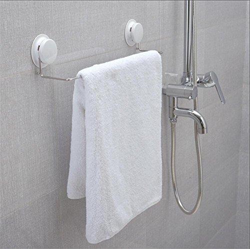 Garbath Bathroom Towel Ring Suction Cup Towel Bar, 260033