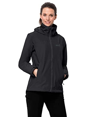 Jack Wolfskin Evandale - Chaqueta Impermeable para Mujer ...