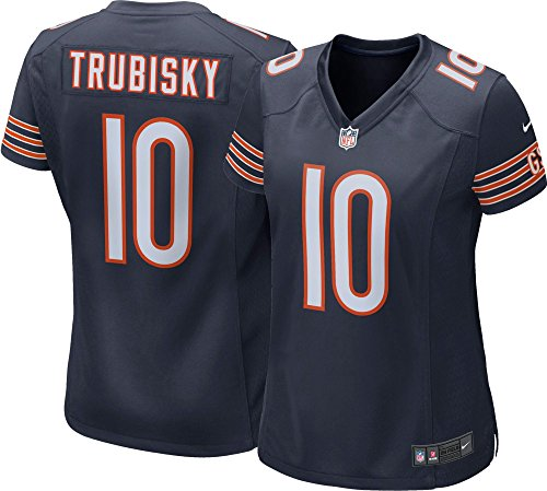 Nike Mitchell Trubisky Chicago Bears Women's Game Jersey (Navy, Large)