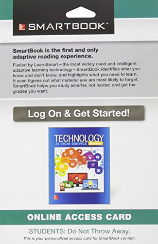 SmartBook Access Card for Technology: At Your Service, 1e