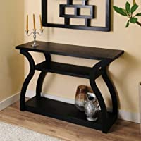 247SHOPATHOME YNJ-241-1, sofa table, Black