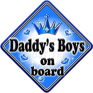 Big Bro/'s Car Sign Like Baby//Child On Board Blue