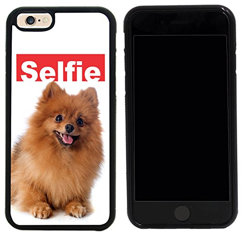 Rikki Knight Case Cover for iPhone 6/6s - Selfie Brown Pomeranian Dog Design
