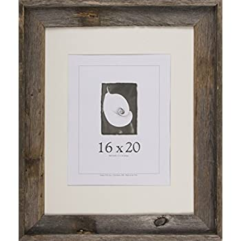 16x20 picture frames barnwood frames barnwood signature series 2 78 profile