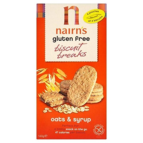 Nairns Nairns Biscuit Breaks - Oat & Syrup 160g (Pack of 4)