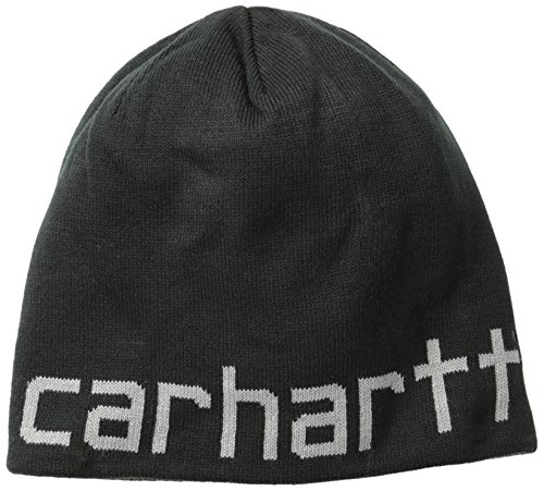 Cap Beanie Black Reversible (Carhartt Men's Greenfield Reversible Hat,Black,One Size)