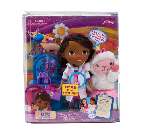 Disney Doc McStuffins Time for Your Checkup Interactive Talk.