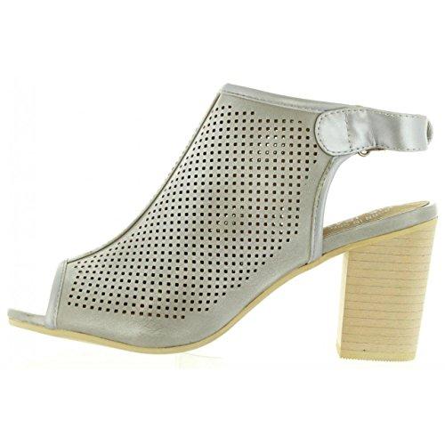 Lois Hielo Pour Femme 85104 Sandales Jeans BTqB1