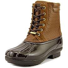MICHAEL Michael Kors Womens Easton Bootie Leather Closed Toe Ankle Rainboots